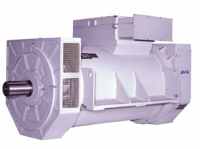 AVK发电机的组装调试